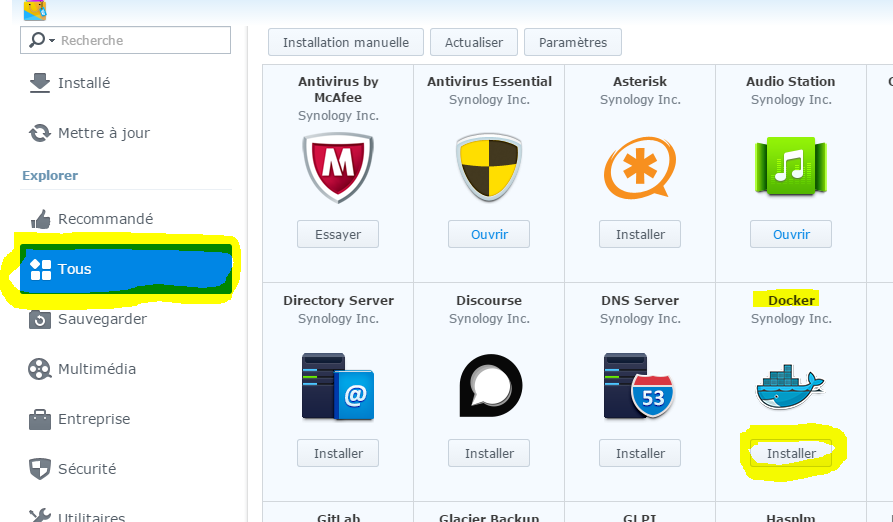 install synology 2